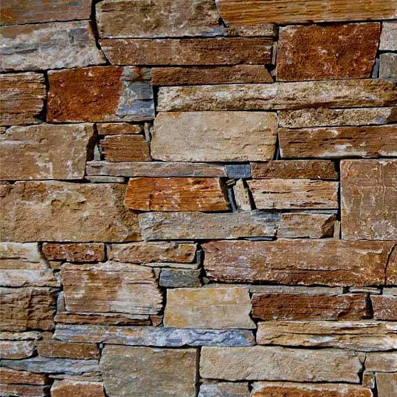 Stone wall cladding - Color Mix