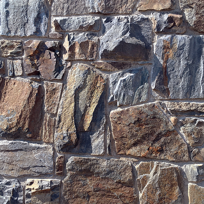 Detail of Stonemasons work - Massive Rock