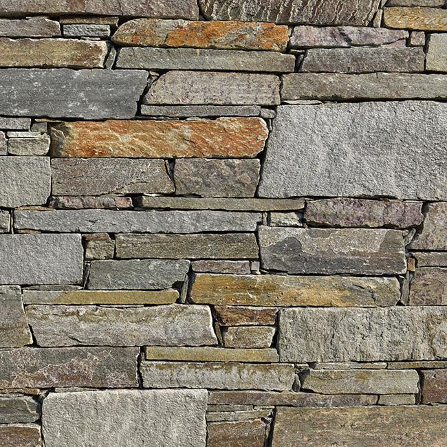 Stone facade - Montego Gray