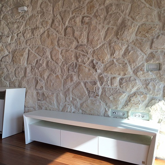 Kamenný obklad - Motion White