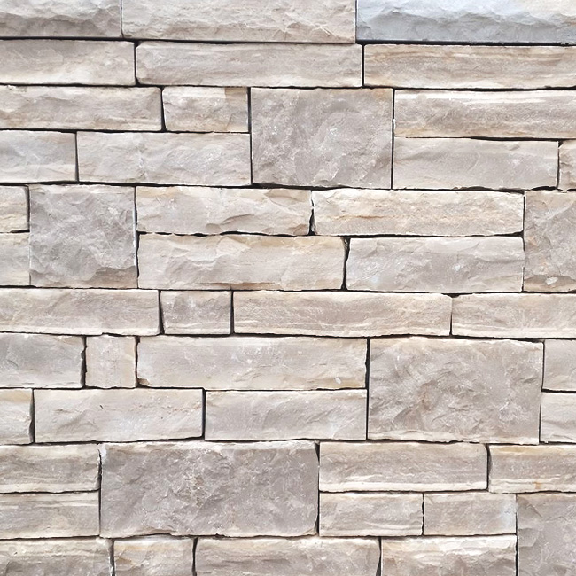 Stone wall cladding- White Essence