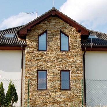 Kamenná fasáda - Modern Rustic