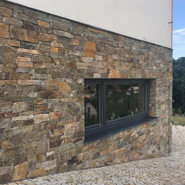 Obklad na kamennou fasádu - Montego Gray