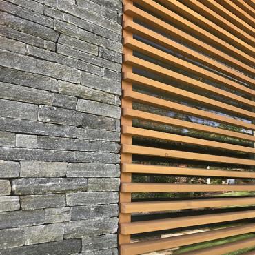 Dřevo a kámen - Silver Harmony