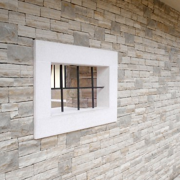 Stone wall cladding - White Essence