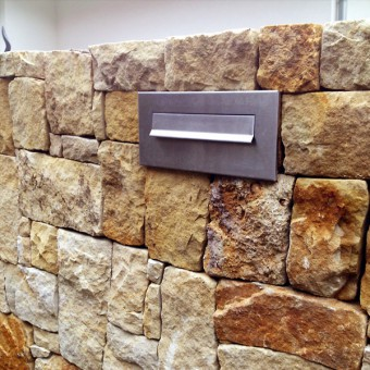 Stone retention wall – Golden History