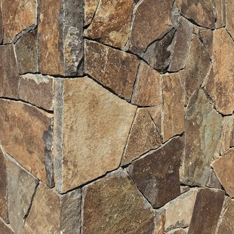 Corner of stone cladding - Element Symphony