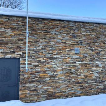 Kamenná fasáda na horách – Modern Rustic