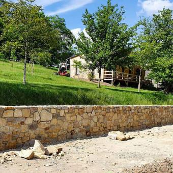 Stone Wall - Horse Park
