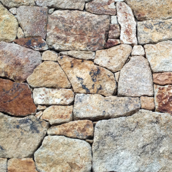 Stone wall cladding - Brown Velvet