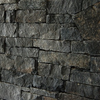 Stone wall cladding - Dark Grey